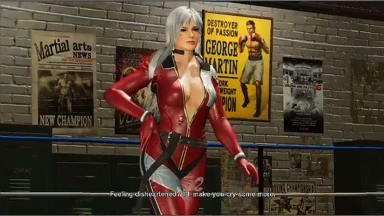 New Dead or Alive 6 gameplay sees a female fighter lose her