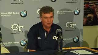 ALCNvsGT: Paul Johnson Postgame
