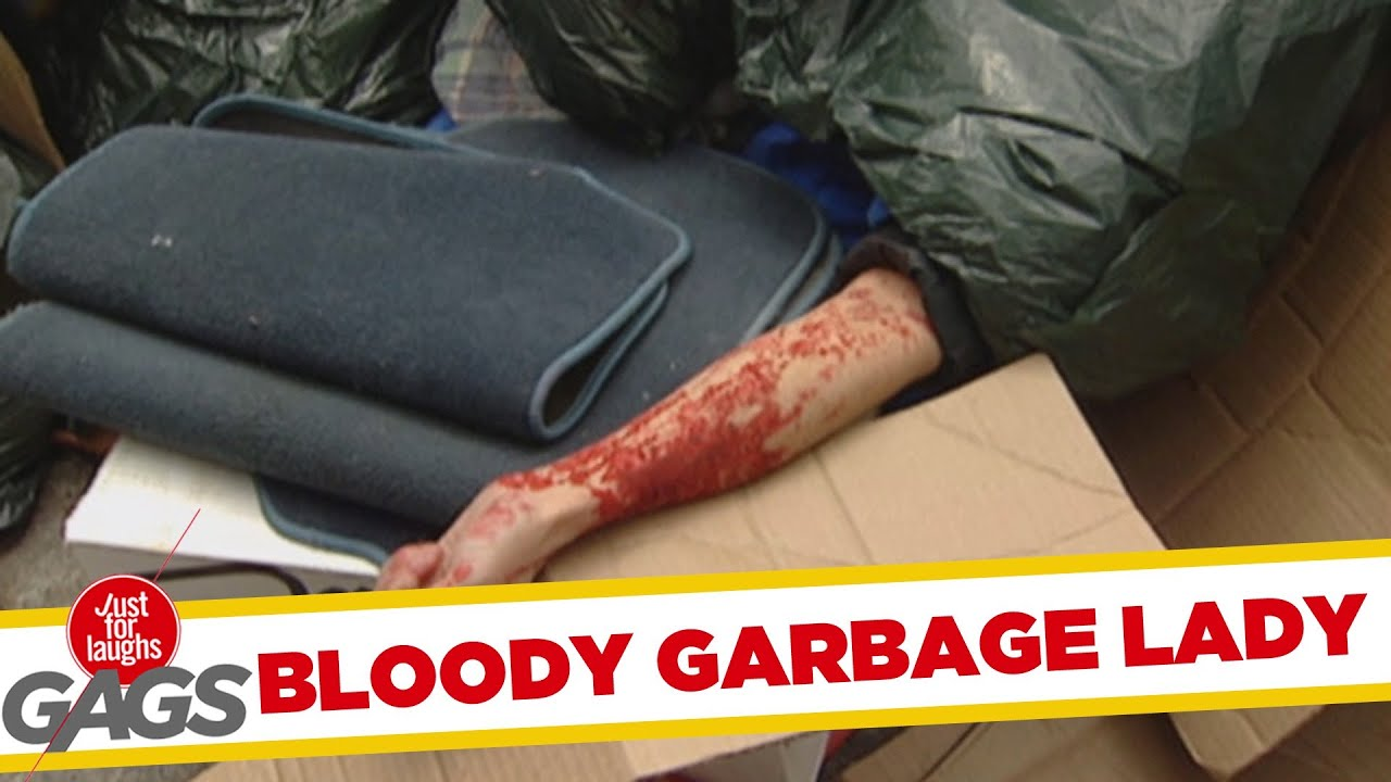 Bloody Garbage Lady