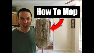 How To Mop Floors | Simple Cleaning Tutorial
