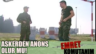 Gambar cover Vedat'tan OLAY Hareket! Uzman Çavuş'a ANONS Çektirdi!