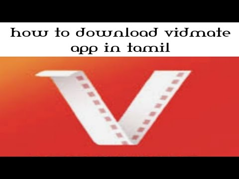 How To Install Original Vidmate App In Tamil Language