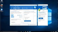✔️ Windows 10 - Remote Control and Remote Access with FREE TeamViewer Software - Remote Desktop