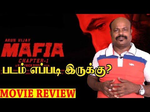 Mafia Tamil Movie Review By Jackie Sekar | Arun Vijay | Prasanna | Priya Bhavani Shankar | Karthick
