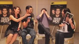 TEEN WOLF FUNNY CAST MOMENTS.