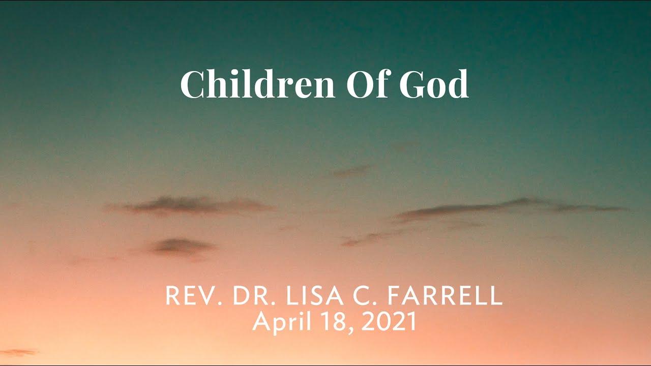 Children of God   April 18