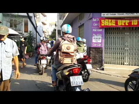 Võ Thành Trang, ngã tư Bảy Hiền Saigon 11/2016