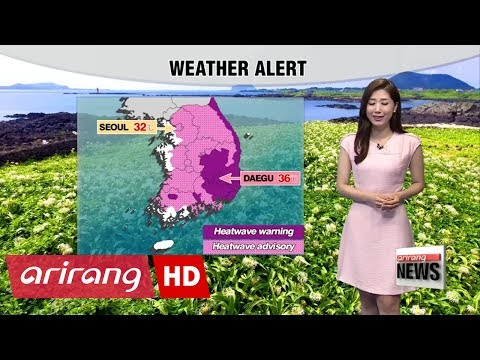 Intense heat to bake most parts of Korea - 동영상