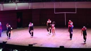UAB Nupes Camille Stepshow 2015