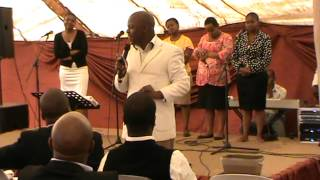 Corner stone whorship center Pastor Frans morudu