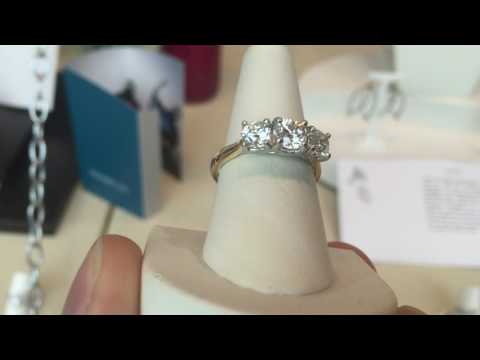 Campbell Jewellers Diamond Trilogy Ring GIA Certified