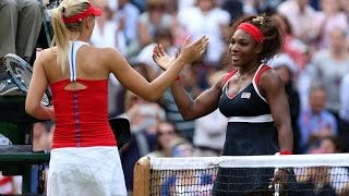 Serena Williams VS Maria Sharapova Highlight 2012 F