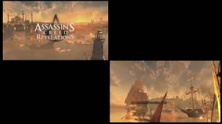 Assassin's Creed Revelations. E3 Gameplay vs Game Footage
