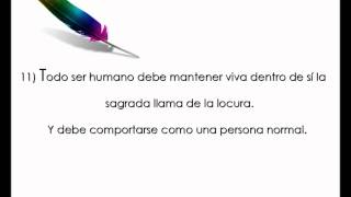 Paulo Coelho - Declaracion de Principios