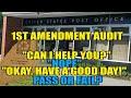 1st Amendment Audit United states post office Norridgewock Maine