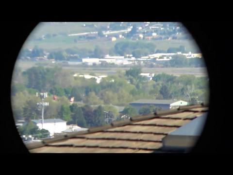 Nikon Aculon A211 1022X50 Binocular View With Sony FDR x3000
