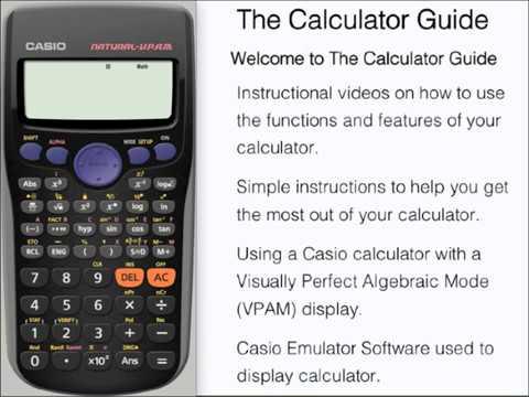 casio calculator fx-115 es manual