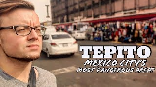 🇲🇽A FOREIGNER ALONE in TEPITO - SURVIVING MEXICO CITY'S Most DANGEROUS NEIGHBOURHOOD *subtítulos*