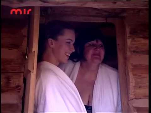 Зрелая женщина в бане с молодыми мужчинами. Настоящий мужчина никому ничего не должен.