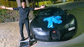 BUGATTI SURPRISE FOR MY BIRTHDAY !!!