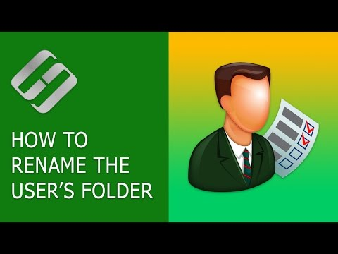 How to Rename the User's Folder in Windows 10