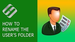 Watch how to rename the user's folder in Windows 10, which can be f...