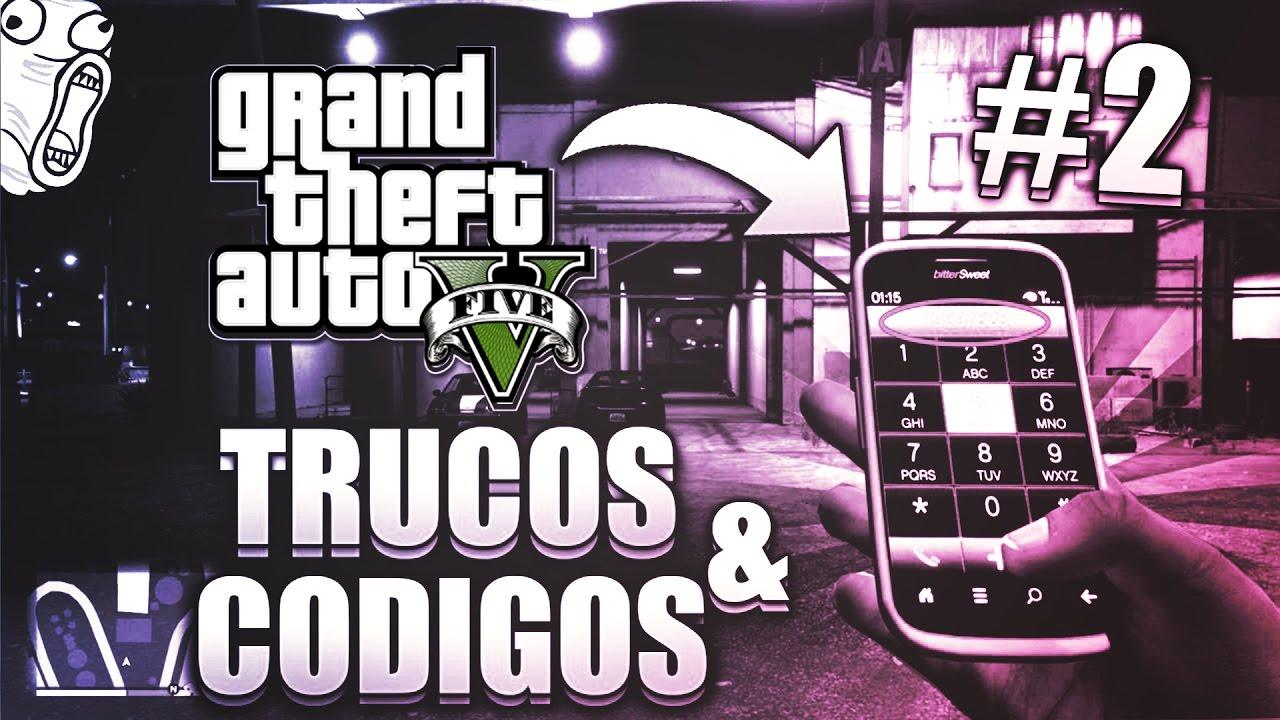Gta 5 Todos Los Trucos Codigos Para Ps4 Ps3 Xbox 360 Xbox One