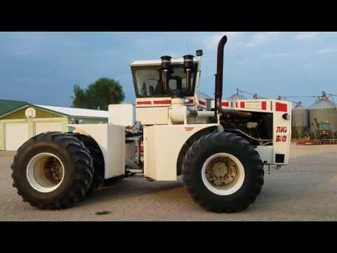 1979 Bid Bud 450/50 4WD Tractor DB5368 Strnad Grain and Cattle Munden Ks BigIron Auction August 30th