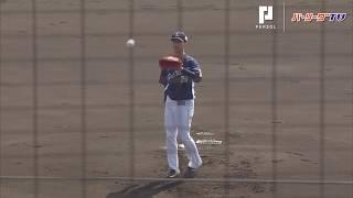 実戦初登板!埼玉西武・森脇投手が紅白戦で2イニングを投げ無失点の投球!