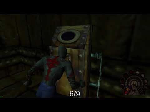 Shadow Man - Asylum: Lavaducts Dark Soul Locations |