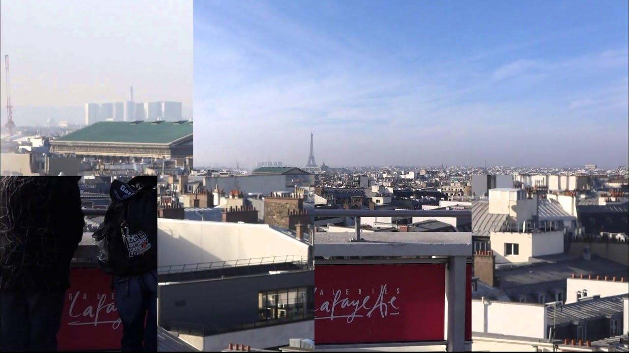 Terraza Mirador En Galerías Lafayette En París