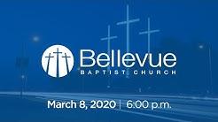 March 8, 2020 | 6:00 PM | Bellevue Baptist Church