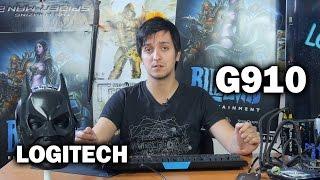 Logitech G910 Orion Spark: обзор клавиатуры