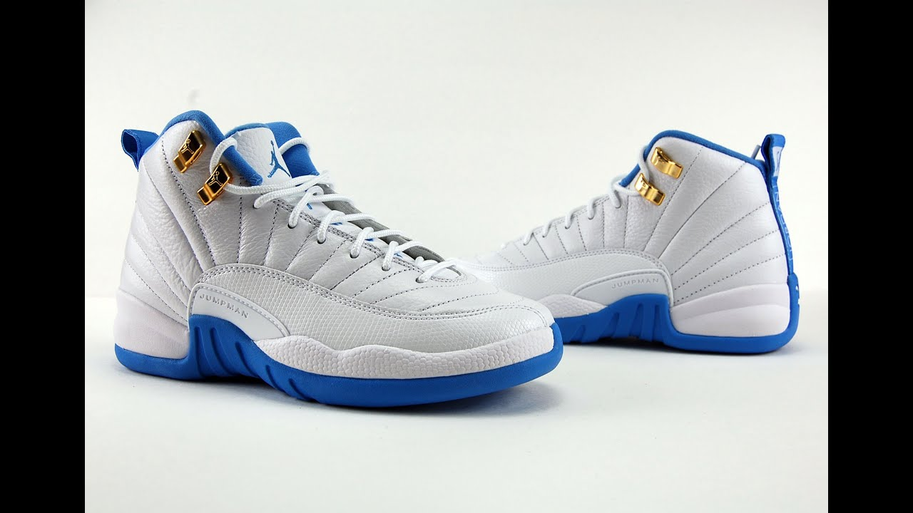 new styles 7916a a270e Air Jordan 12 GS University Blue Review + On Feet