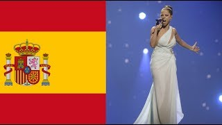 My TOP 10 entries from Spain in Eurovision (1961-2018)
