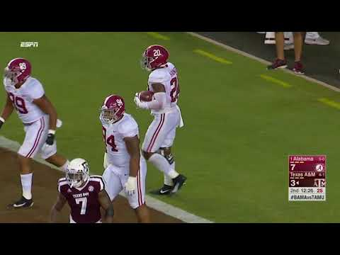 Alabama @ Texas A&M, 2017 (in under 35 minutes)