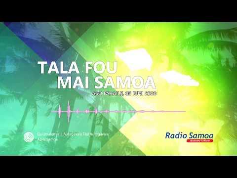 Radio Samoa - News from Samoa (05 JUN 2020)