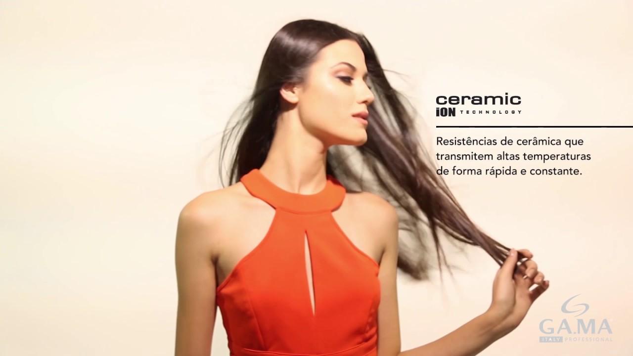 Prancha de Cabelo Eleganza Plus - GA.MA Italy - YouTube