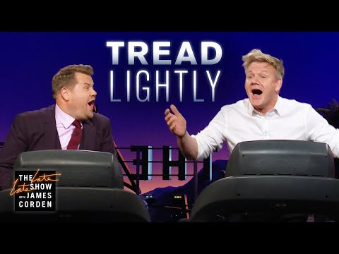 Treadmill Quiz w/ Gordon Ramsay