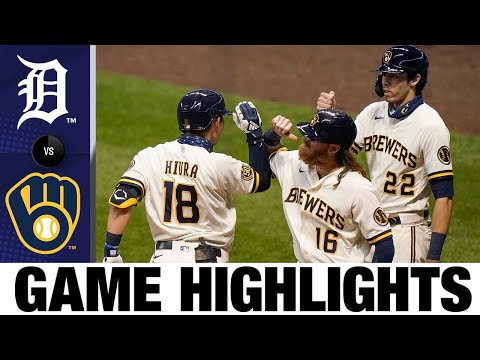 Keston Hiura homers in Brewers' 8-5 win   Tigers-Brewers Game Highlights 9/2/20