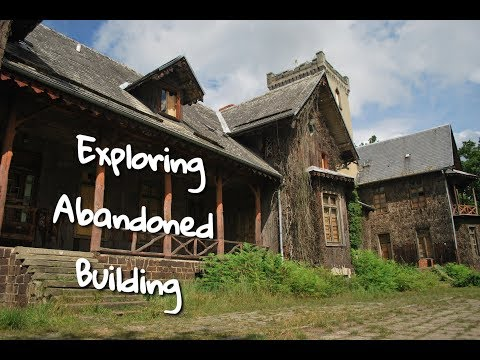 Exploring Abandoned Building!! Motorbike trip!! Poland 2017!!!