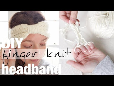 how-to-finger-knit-a-turban-headband,-no-sewing,-full-tutorial-with-simply-maggie