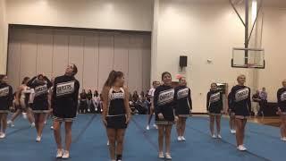 BFHS Varsity Cheer 2017 2018 Fake Love