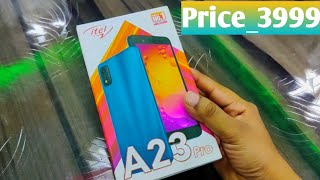 Itel A23PRO Unboxing First Look amp Review Itel A23PRO Price Specifications amp More