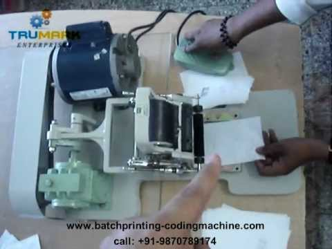 expiry date printing machine, semi automatic batch coding machine, batch coder, date printer