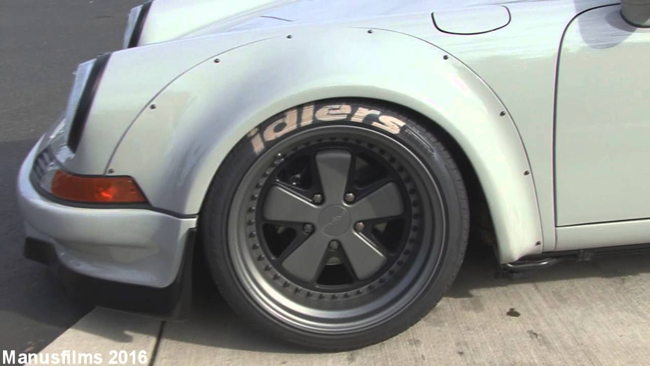 Porsche 930 911 Rwb Widebody Kit In Detail  Manusfilms 02:23 HD