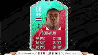 FIFA 20 SBC FUT Birthday Steven Bergwijn CHEAPEST SOLUTION 332000 FUT20 SQUAD BUILDING CHALLENGE