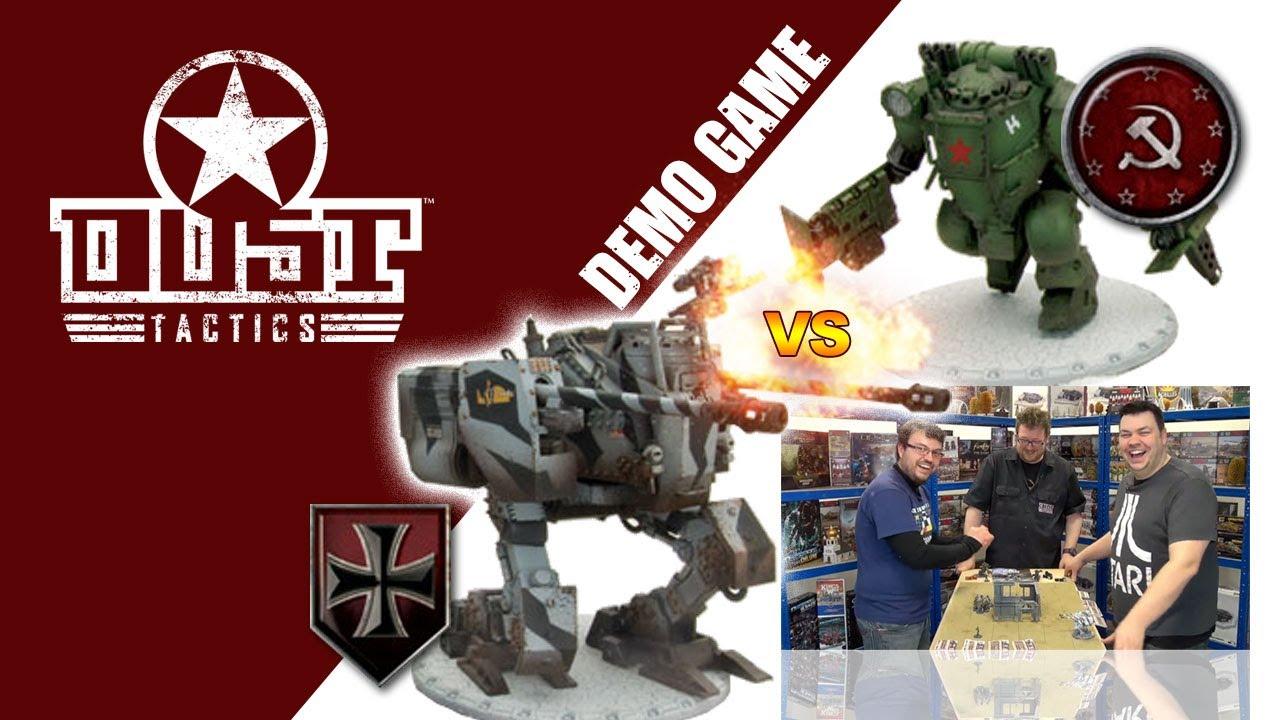 DUST Tactics! Weird World War Demo Game!