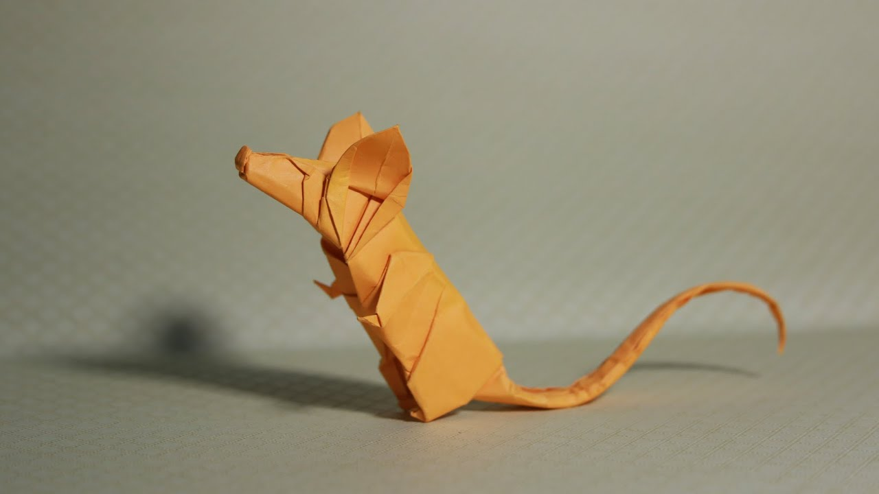 Origami rat tutorial henry phm youtube jeuxipadfo Images