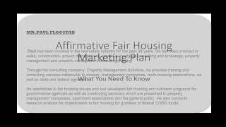 affirmative fair housing marketing plan what you need to know